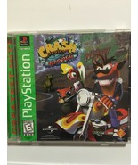 Sony Playstation 1 Crash Bandicoot Warped Greatest Hits complete cleaned... - $15.57