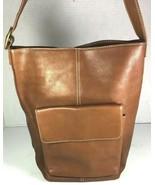 Hobo International Brown Leather Shoulder Bag – Modified Strap - $48.49