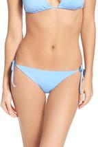 NEW BECCA BIR Light Blue Tie Sides Bikini Swimwear Bottom L Large - $21.77