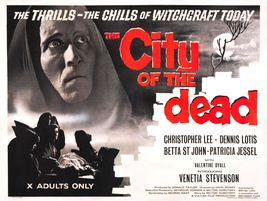 THE CITY OF THE DEAD (1960) - Classis Horror B-... - $7.49