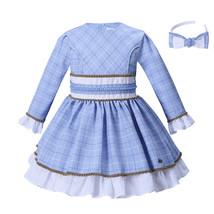 Rid girl dress o neck collar solid dresses autumn children clothing dresses.jpg 640x640 thumb200