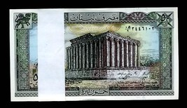 LEBANON P65c 1983-85 50 LIVRES PACK OF 100 Consecutive pieces! BANKNOTES - $299.00