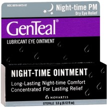 Alcon GenTeal PM Lubricant Eye Ointment, 0.12 fl oz - $13.59