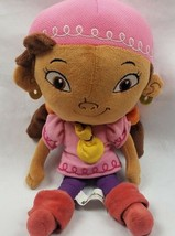 "Disney Parks Jake and the Neverland Pirates Izzy Plush Doll 11"" Authentic  - $15.72"