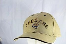 Jacksonville Jaguars Tan/Black Trim NFL  Baseball Cap Adjustable - $24.99