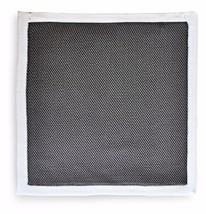 Frederick Thomas MAGLIA Fazzoletto quadrato da taschino in GRIGIO SCURO ft3178
