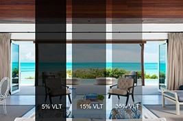 Sugo Premium Privacy Reflection Window Tint Film Energy Saver 3X12 FEET,... - $32.16