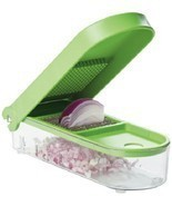 Green Onion Slicer Chopper Cutter Dicer Home Kitchen Prepware Tool Conta... - ₨1,345.35 INR