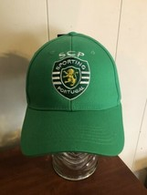 scp Portugal Hat green SnapBack Soccer Adult Sporting Cap - $14.84