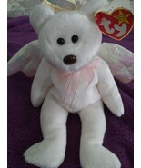 Halo the Bear Ty Beanie Baby with Brown Nose 1998 and Retired - $6,800.00