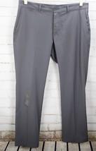 Nike Golf Dri-Fit Stretch Flat Front Woven Dress Pants Men's Size 36x30 Gray - $37.62