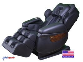 Luraco Black iRobotics i7 3D Zero Gravity Massage Chair w/ White Glove D... - $8,490.00