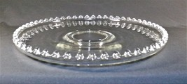 "Vtg. Imperial Candlewick Glass Serving Platter Upturned Edges 12 1/4"" Di... - $15.00"