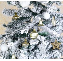 Snow Silver White Polystyrene Balls For Home Christmas Tree Hanging Deco... - $65.99+