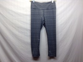 90 Degree by Reflex Stretchy Grey Black White Dance Workout Pants Sz S