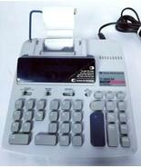 Texas Instruments Electronic Calculator Adding Machine TI-5045 SV 12 Digits - $46.62