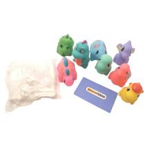GizmoVine Dinosaur Toy 8 Pieces Light Up Water Spray Baby Bath Toy with ... - $16.32