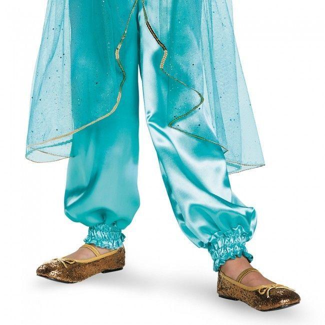 Disguise Principessa Jasmine Lusso Aladino Disney Ragazze Costume Halloween
