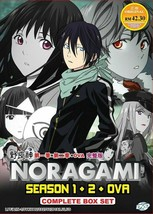 NORAGAMI Complete Series ( Season 1+2 +OVA ) English Dubbed Ship From USA