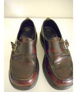 Dansko Women's Burgundy Sz 37 or 38 Shoe buckle or slip on - $22.70