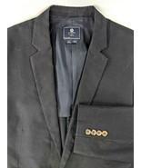 J Crew Navy Blue Sport Coat NEW Cotton Chino Mens 42L 2 Button Front Ven... - $45.82