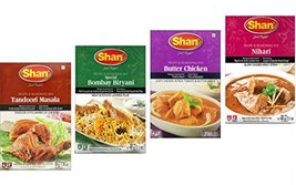 Shan Spices - Variety Pack of 4 Tandoori, Butter Chicken, Bombay Biryani, Nihari image 4