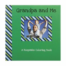 C.R. Gibson Hard Cover Keepsake Coloring Book - Grandpa and Me- Great gift! - $11.40