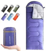 Mooncast Sleeping Bag 4 Seasons - Warm & Cold Weather - Lightweight, Por... - $70.00