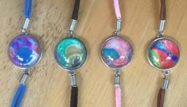 Four Bracelets Set - Acrylic Pour Art - $16.95
