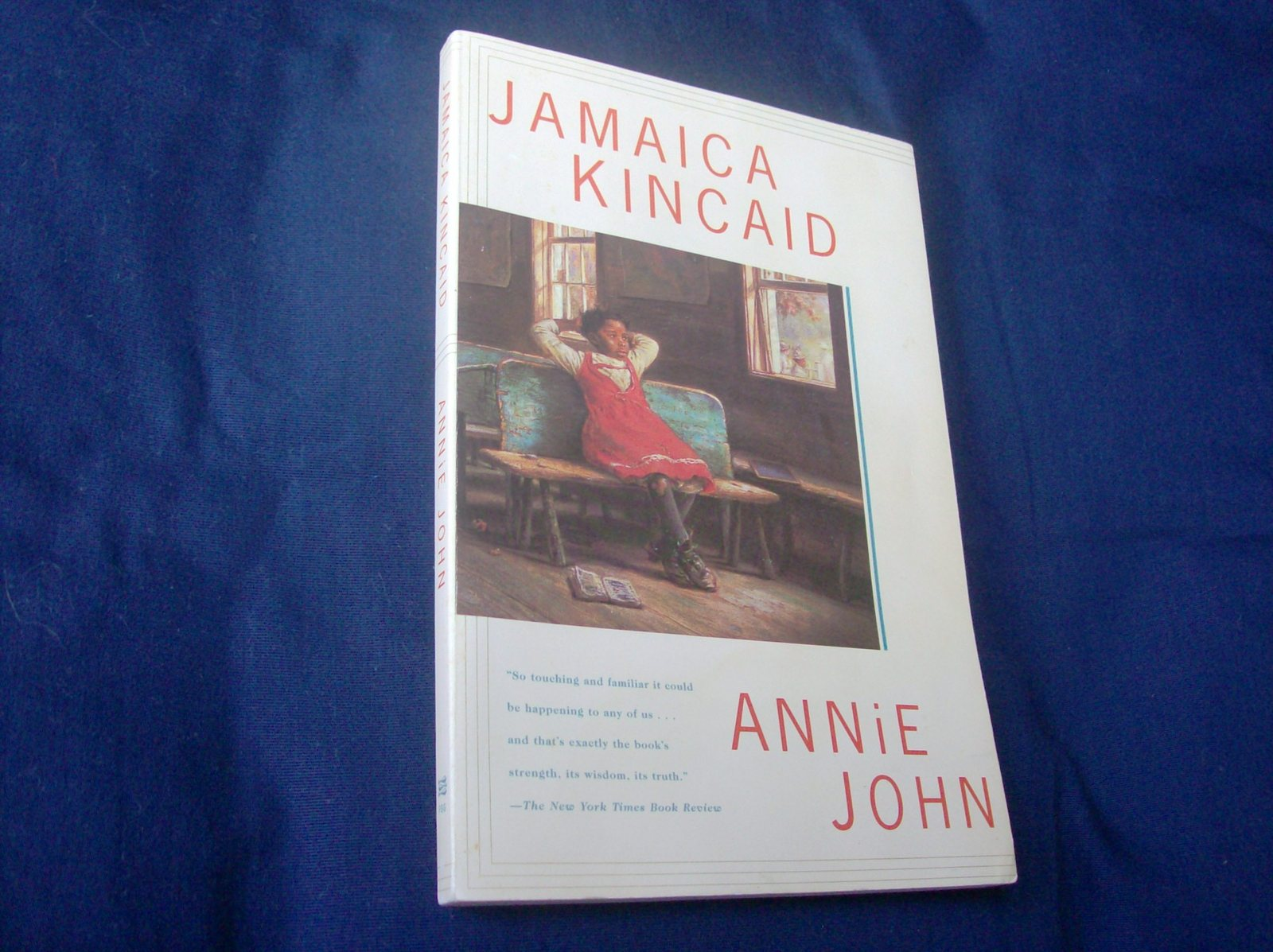 a summary of annie john a novel by jamaica kincaid In the novel, annie john revisits her early childhood experience when she was growing up in the island of antigua under the care and the watch of her mother the book begins with a description of annie love and adore for her mother but her love for her mother is more of a soul crush than normal.
