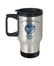 Funny Fishing Travel Mug - Fisherman Coffee Cup Gifts - 14oz - Dishwasher Safe - - $24.95