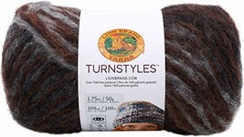 Lion Brand Yarn Turn Styles Yarn Peat - $9.99