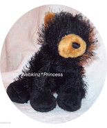 Webkinz BLACK BEAR Stuffed Animal ONLY!  No Code!!! Stuffie - $3.50