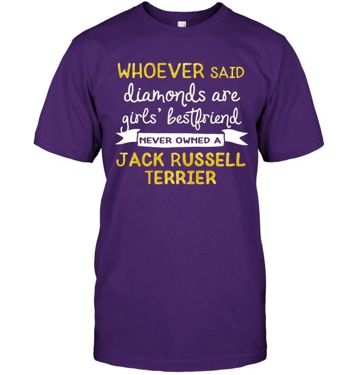 Inspirational Jack Russell Terrier Dog T Shirt
