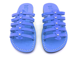 Leather Sandals for Women NEPTUN by SANDALIM Biblical Greek Roman Sandals - $39.44 CAD+