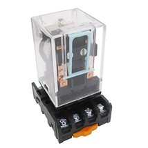 Taiss / MK2P-I AC 110V Coil 8 Pin DPDT Electromagnetic Relay Power Relay with Pl