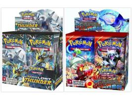 Pokemon TCG Sun & Moon Lost Thunder + Primal Clash Booster Box Bundle - $219.99