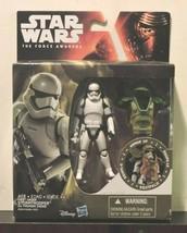 "Star Wars FIRST ORDER Storm Trooper Armor Up 4"" Figure Hasbro Force Awakens - $14.80"