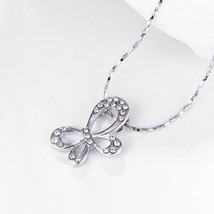 1 ct Natural Amethyst & Peridot Dragonfly Pendant with Diamonds in Silver - $9.79