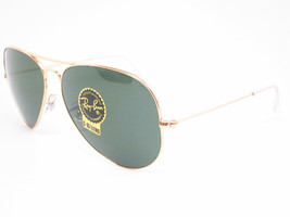 Ray Ban Sunglasses Large Aviator II RB3025 001 62mm Gold w/G-15 Green - $191.05