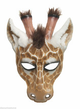 Deluxe HAND-DETAILED Giraffe Mask Halloween Costume Masquerade Accessory - $24.92