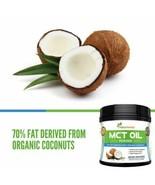 Naturments Organic MCT Coconut Oil Powder Pure Keto Friendly Dietary Sup... - $28.51