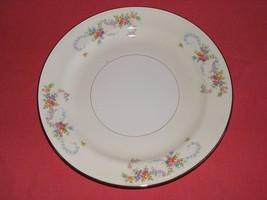 """2 Homer Laughlin Dubarry 9 7/8"""" Dinner Plates Eggshell Nautilus  - $19.95"""