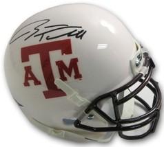 Ryan Tannehill signed Texas A&M Aggies Authentic White TB Schutt Mini Helmet- Up - $108.95