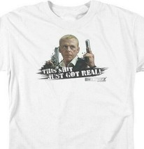 Hot Fuzz T Shirt Simon Pegg Shaun of the Dead cotton graphic tee shirt UNI169 image 2
