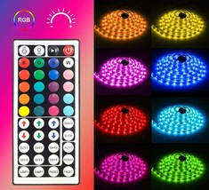 LED Color Changing Light Strips with 44 Key Remote image 2