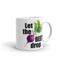 New Mug - Let the beet drop funny vegetable kitchen coffee Mug - £8.52 GBP+