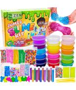 DIY Slime Kit for Girls Boys Glow in the Dark Glitter Kids Arts Crafts M... - $33.99
