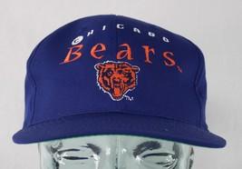 Vintage Chicago Bears NFL Adjustable Snapback Cap Drew Pearson Companies... - $18.80