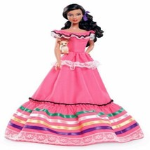 Mexico Barbie Doll Collector Of The World With Ribbon Accents Toy For Girls - $124.32